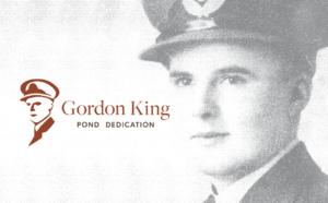 Gordon King Pond Dedication Arbours of Keswick